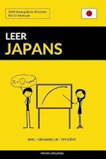 Leer Japans - Snel / Gemakkelijk / Efficient
