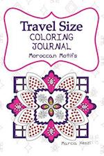 Travel Size Coloring Journal