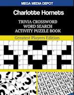 Charlotte Hornets Trivia Crossword Word Search Activity Puzzle Book