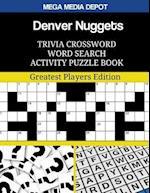 Denver Nuggets Trivia Crossword Word Search Activity Puzzle Book