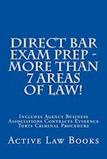 Direct Bar Exam Prep - More Than 7 Areas of Law!