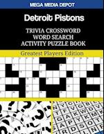 Detroit Pistons Trivia Crossword Word Search Activity Puzzle Book