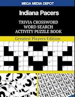 Indiana Pacers Trivia Crossword Word Search Activity Puzzle Book