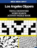 Los Angeles Clippers Trivia Crossword Word Search Activity Puzzle Book