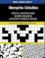 Memphis Grizzlies Trivia Crossword Word Search Activity Puzzle Book