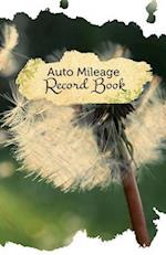 Auto Mileage Record Book