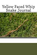 Yellow Faced Whip Snake Journal