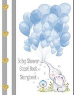 Baby Shower Guest Book Storybook