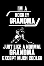 I'm a Hockey Grandma Just Like a Normal Grandma Except Much Cooler