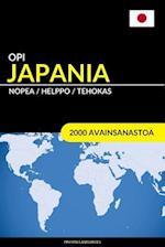 Opi Japania - Nopea / Helppo / Tehokas