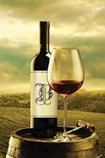 Monogram B Wine Journal