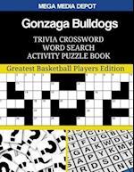 Gonzaga Bulldogs Trivia Crossword Word Search Activity Puzzle Book