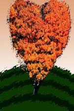 Journal Autumn Love Tree
