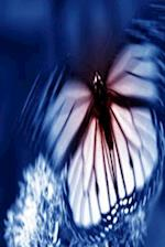Journal Butterfly Blue Background