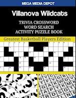 Villanova Wildcats Trivia Crossword Word Search Activity Puzzle Book