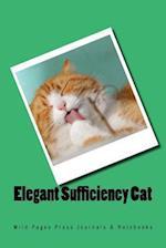 Elegant Sufficiency Cat (Journal / Notebook)