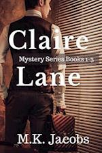 Claire Lane Mystery Series. Books 1-3