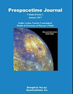 Prespacetime Journal Volume 8 Issue 1