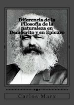 Diferencia de La Filosofia de La Naturaleza En Democrito y En Epicuro
