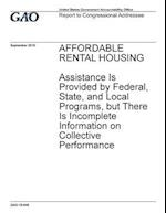 Affordable Rental Housing Assistance Is Provided by Federal, State, and Local Programs, But There Is Incomplete Information on Collective Performance