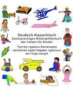 Deutsch-Kasachisch Zweisprachiges Bilderworterbuch Der Farben Fur Kinder