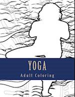 Yoga Adult Coloring