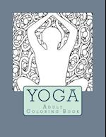 Yoga Adult Coloring Book