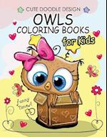 Owls Coloring Books for Kids
