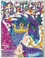 Fantasy Coloring Book