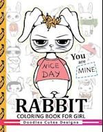 Rabbit Coloring Books for Girls