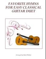 Favorite Hymns for Easy Classical Guitar Duet