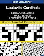 Louisville Cardinals Trivia Crossword Word Search Activity Puzzle Book
