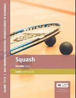 DS Performance - Strength & Conditioning Training Program for Squash, Agility, Intermediate