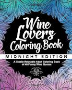 Wine Lover's Coloring Book