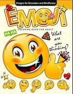 Emoji Coloring Book for Adults