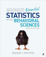 Student Study Guide With IBM SPSS Workbook for Statistics for the Behavioral Sciences