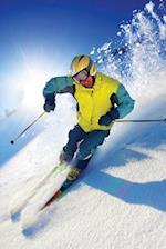 Skiing Blank Book