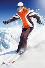 Skiing, Snow Blank Book