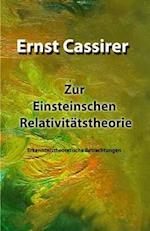 Zur Einsteinschen Relativitatstheorie