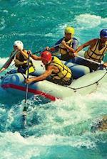Rafting, White Water Blank Book