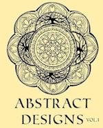 Abstract Designs Adult Coloring Book Colouring 58 Stars Mandalas & Other Designs