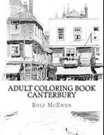 Adult Coloring Book - Canterbury