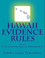 Hawaii Evidence Rules Courtroom Quick Reference