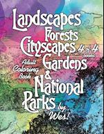 Landscapes, Forests, Cityscapes, Gardens and National Parks, Book 4