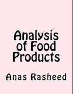 Analysis of Food Products