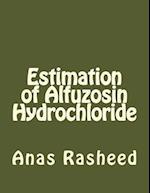 Estimation of Alfuzosin Hydrochloride