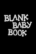 Blank Baby Book