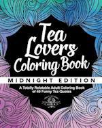 Tea Lover's Coloring Book