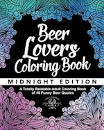 Beer Lover's Coloring Book