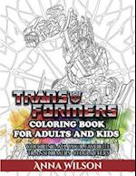 Transformers Coloring Book for Adults and Kids